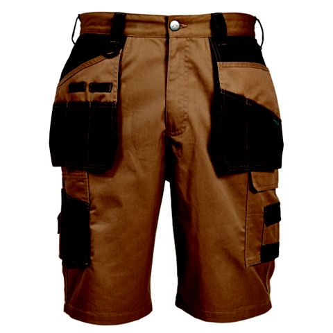 Rigour Tan Holster Pocket Shorts (Waist)38