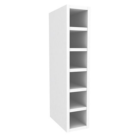 Cooke & Lewis White Wine Rack Wall Cabinet (W)150mm