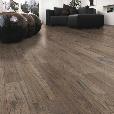 Ostend Ascot Oak Effect Laminate Flooring Sample