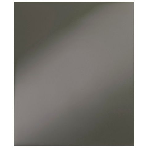 Cooke & Lewis Raffello High Gloss Anthracite Integrated Appliance Door (W)600mm