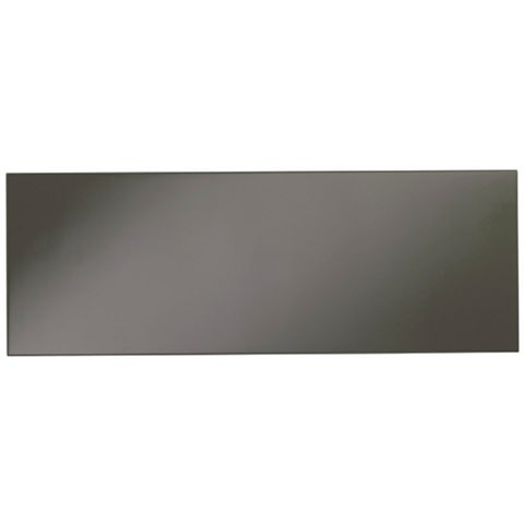 Cooke & Lewis Raffello High Gloss Anthracite Slab Bridging Door / Pan Drawer Front (W)1000mm