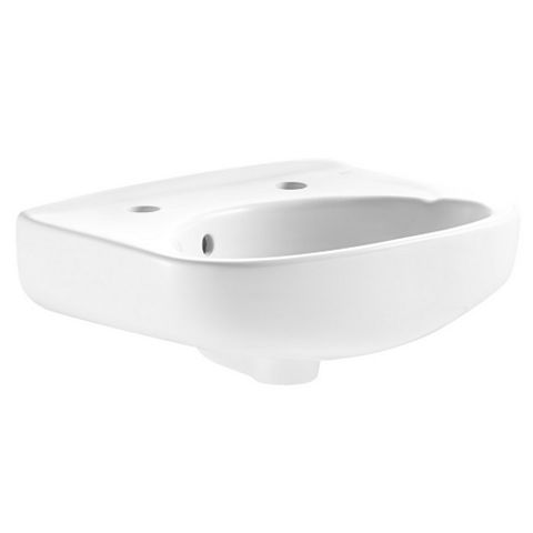 Plumbsure Truro Round Wall Mounted Cloakroom Basin