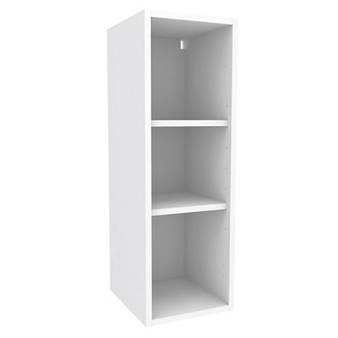 Cooke & Lewis White Standard Tall Wall Cabinet (W)300mm