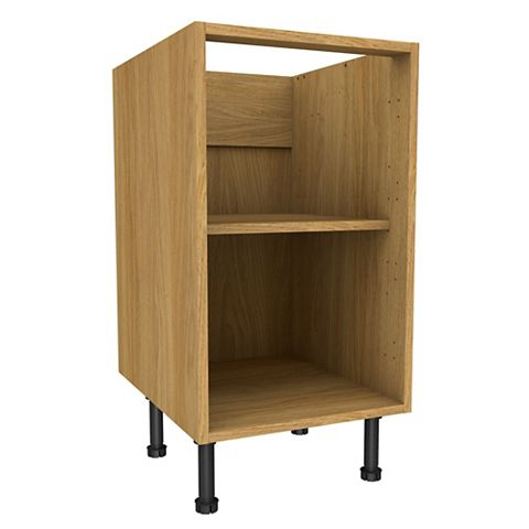 Cooke & Lewis Oak Effect Standard Base Cabinet (W)450mm