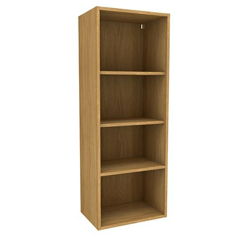 Cooke & Lewis Oak Effect Tall Dresser Cabinet (W)500mm
