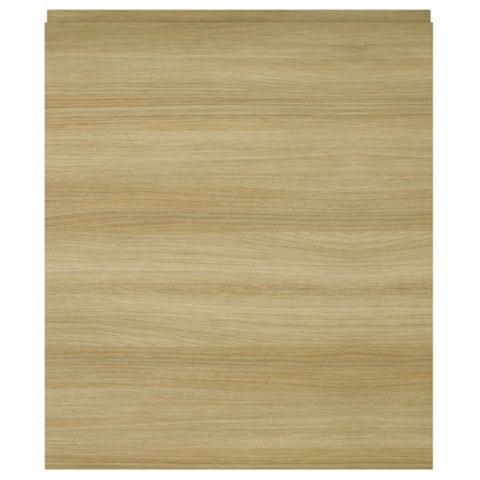 IT Kitchens Marletti Horizontal Oak Effect Base End Replacement Panel, 570 x 720mm
