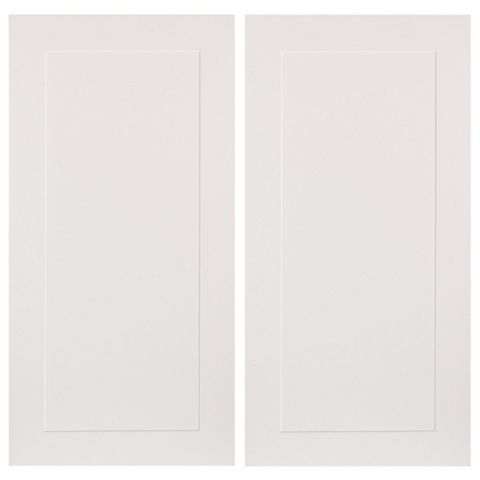 IT Kitchens Stonefield Stone Classic Style Corner Wall Door (W)625mm, Set of 2