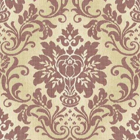 Blush Damask Wallpaper