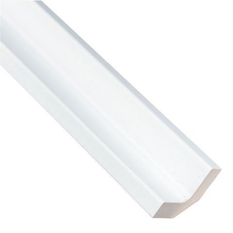 IT Kitchens Curved External Tall Wall Filler Post Gloss White Style (H)895mm (W)33.5mm