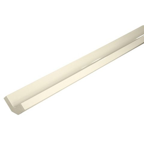 IT Kitchens Curved External Tall Wall Filler Post Gloss Cream Style (H)895mm (W)33.5mm
