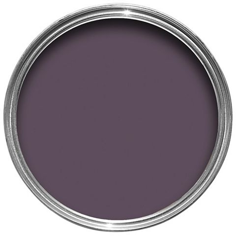 Colours Premium Any Room One Coat Blackcurrant Silk Emulsion Paint 2.5L