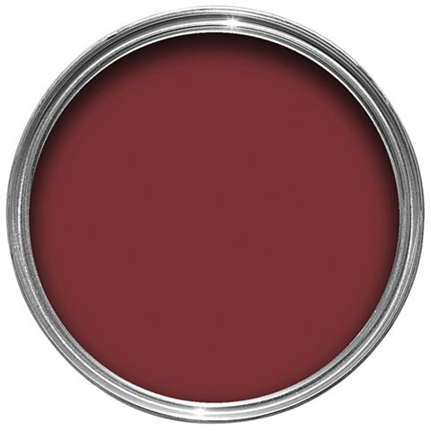 Colours Premium Any Room One Coat Classic Red Silk Emulsion Paint 2.5L