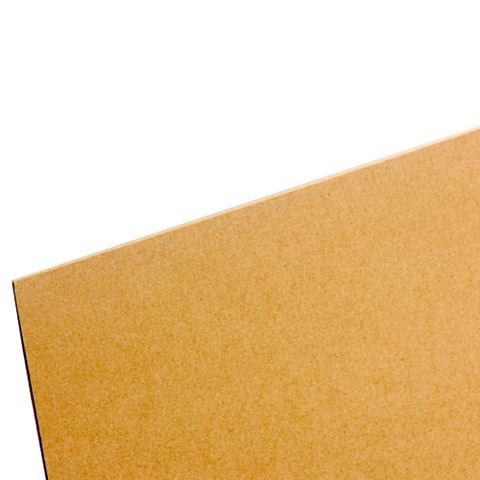 Hardboard Sheet (Th)3mm (W)607mm (L)1830mm Pack 8