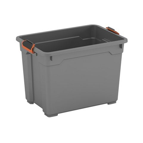 Form Flexi-Store Grey Small 18L Plastic Ultra Tough Storage Box