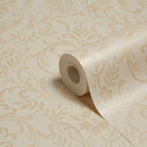 Prestige Gold Damask Mica Wallpaper