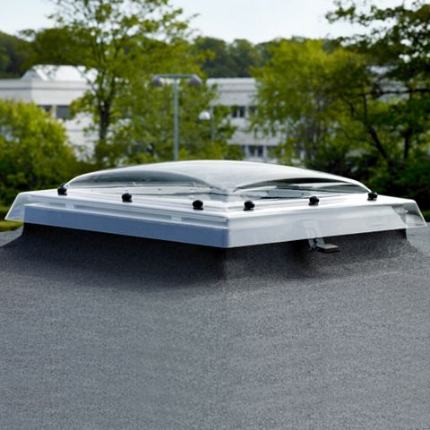 Velux PVCu Fixed Flat Roof Fixed Window 780 x 780 mm