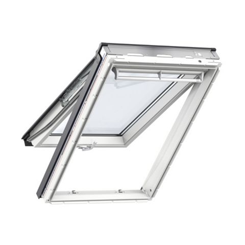 Velux White Timber Top Hung Roof Window 980 x 550 mm