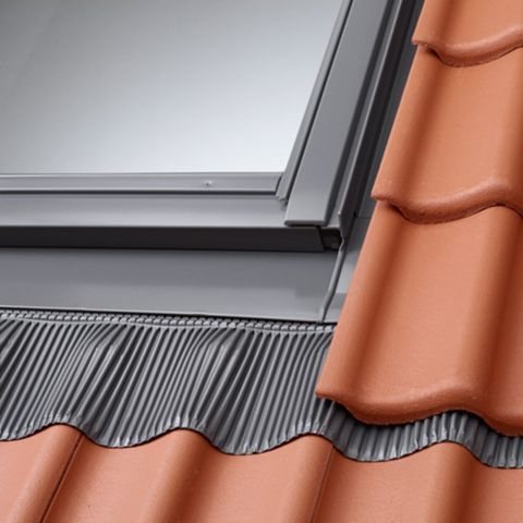 Velux Single Tile Flashing, EDJ UK08 - 1400 x 550mm