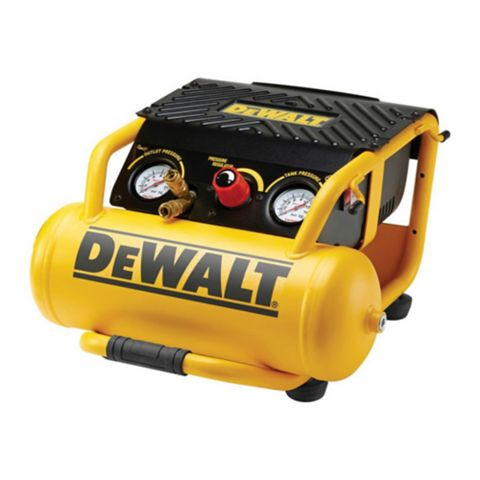 DeWalt 10L Compressor 2 x Output Gauges, Pressure Regulator & 2 x Couplings DPC10RC-LX