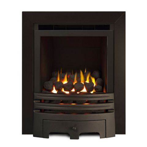 Ignite Chrome Effect Westerly Gas Fire