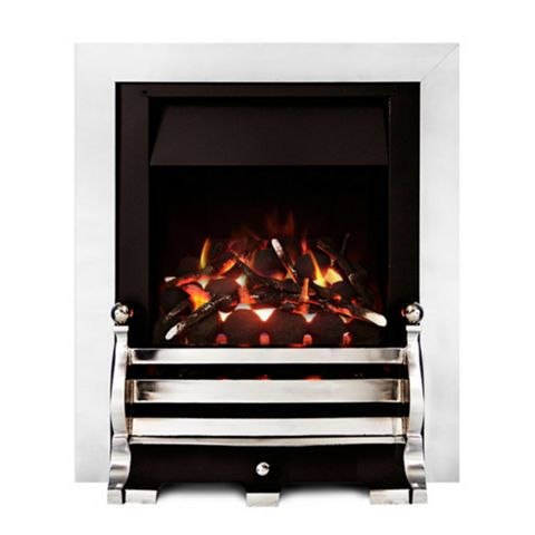 Ignite Chrome Effect Fairfield Gas Fire