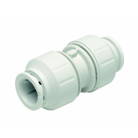 JG Speedfit Push Fit Straight Coupler (Dia)10 mm