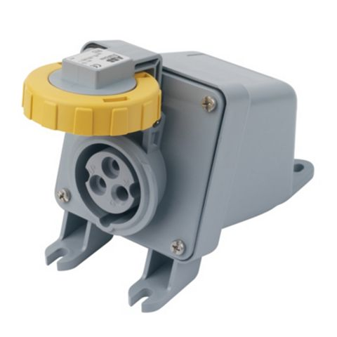 Abb Surface Socket 16 A 2P+E 110 V