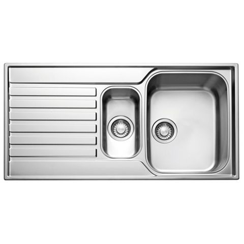Franke Ascona 1.5 Bowl Stainless Steel 1.5 Kitchen Sink