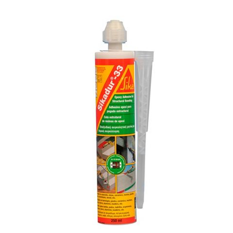 Sika Sikadur 33 Structural Adhesive & Repair Mortar 250ml