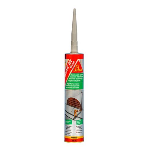 Sika SikaBond At Metal Solvent Free Grab Adhesive 300ml