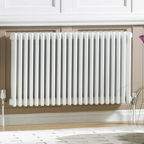 Acova 3 Column Radiator, White (W)1042 mm (H)600 mm