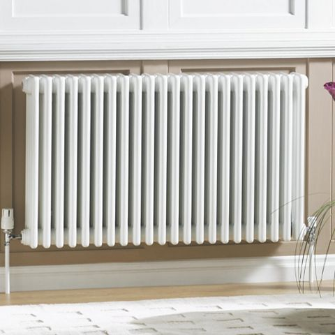 Acova 4 Column Radiator, White (W)1042 mm (H)600 mm