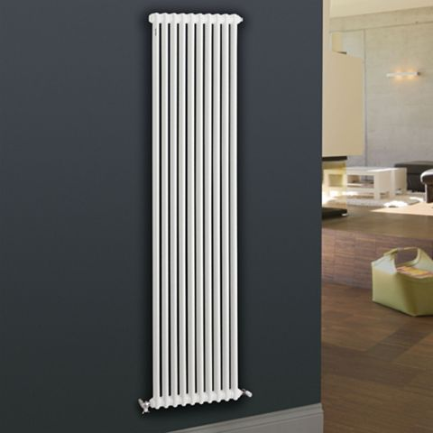 Acova 2 Column Radiator, White (W)306 mm (H)2000 mm