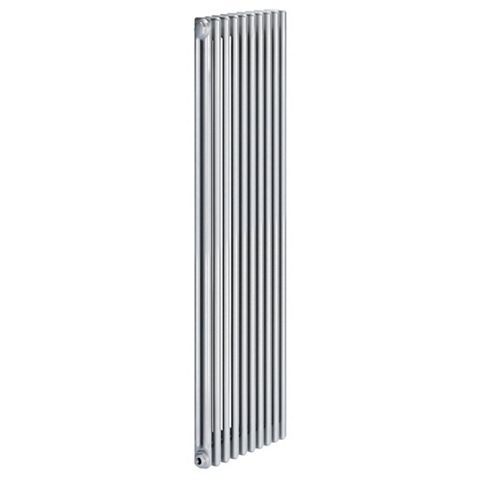 Acova 2 Column Radiator, Silver (W)490 mm (H)2000 mm