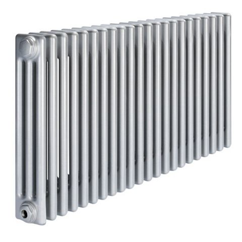 Acova 3 Column Radiator, Silver (W)1042 mm (H)600 mm