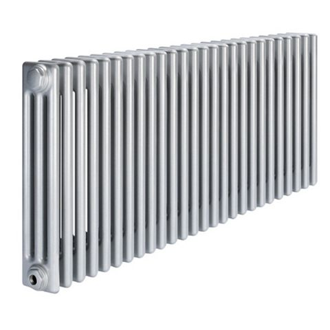 Acova 3 Column Radiator, Silver (W)1226 mm (H)600 mm