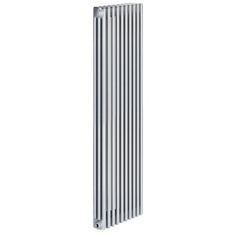 Acova 3 Column Radiator, Silver (W)490 mm (H)2000 mm