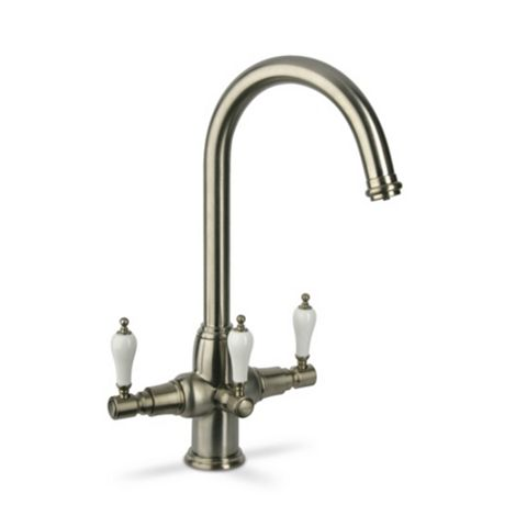 Brita Kelda Nickel Effect Water Filter Tap