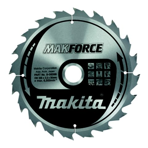 Makita 20T Circular Saw Blade (Dia)235mm