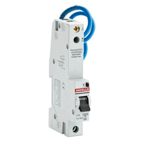 Havells 32A SP RCBO