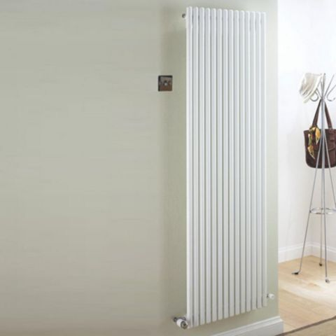 Ximax Supra Vertical Radiator White, (H)1800 mm (W)470mm
