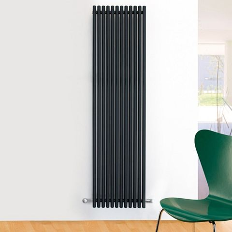 Ximax Supra Vertical Radiator Anthracite, (H)1800 mm (W)470mm