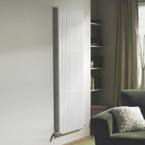 Ximax Quadro Vertical Radiator White, (H)1800 mm (W)440mm