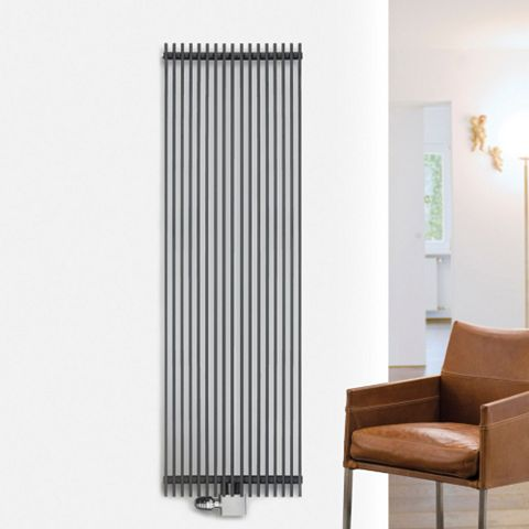 Ximax Atlas Vertical Radiator Anthracite, (H)1800 mm (W)410mm