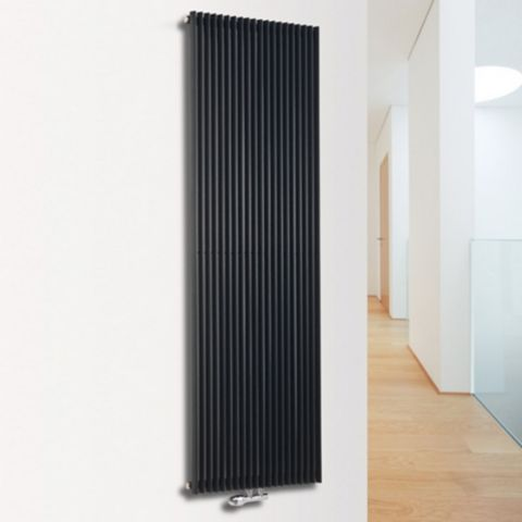 Ximax Triton Vertical Radiator Anthracite, (H)1800 mm (W)450mm