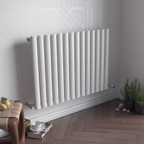 Ximax Fortuna Vertical Radiator White, (H)600 mm (W)826mm
