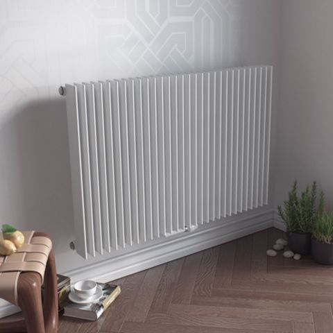 Ximax Atlas Vertical Radiator White, (H)600 mm (W)890mm