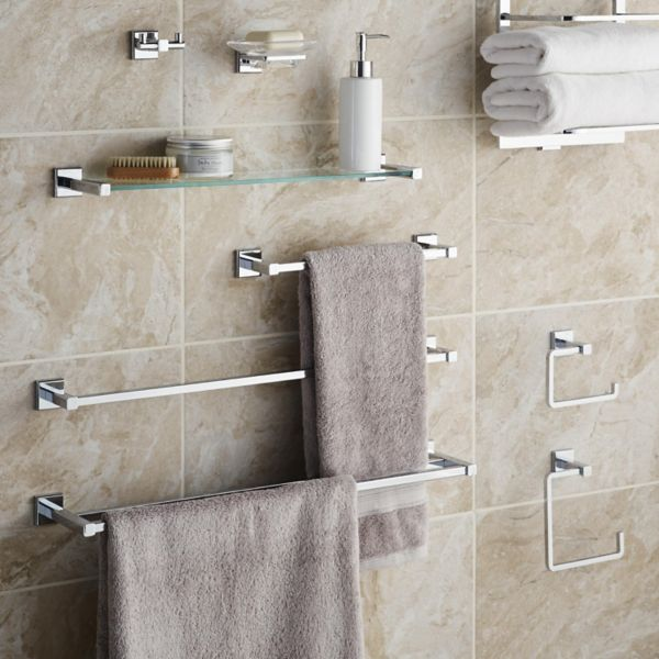 Bathroom accessories bathroom fittings fixtures diy for Bathroom hardware ideas