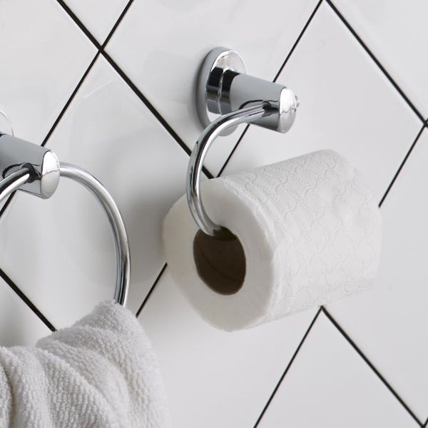 Toilet Roll Holders. Bathroom Accessories   Bathroom Fittings   Fixtures   DIY at B Q