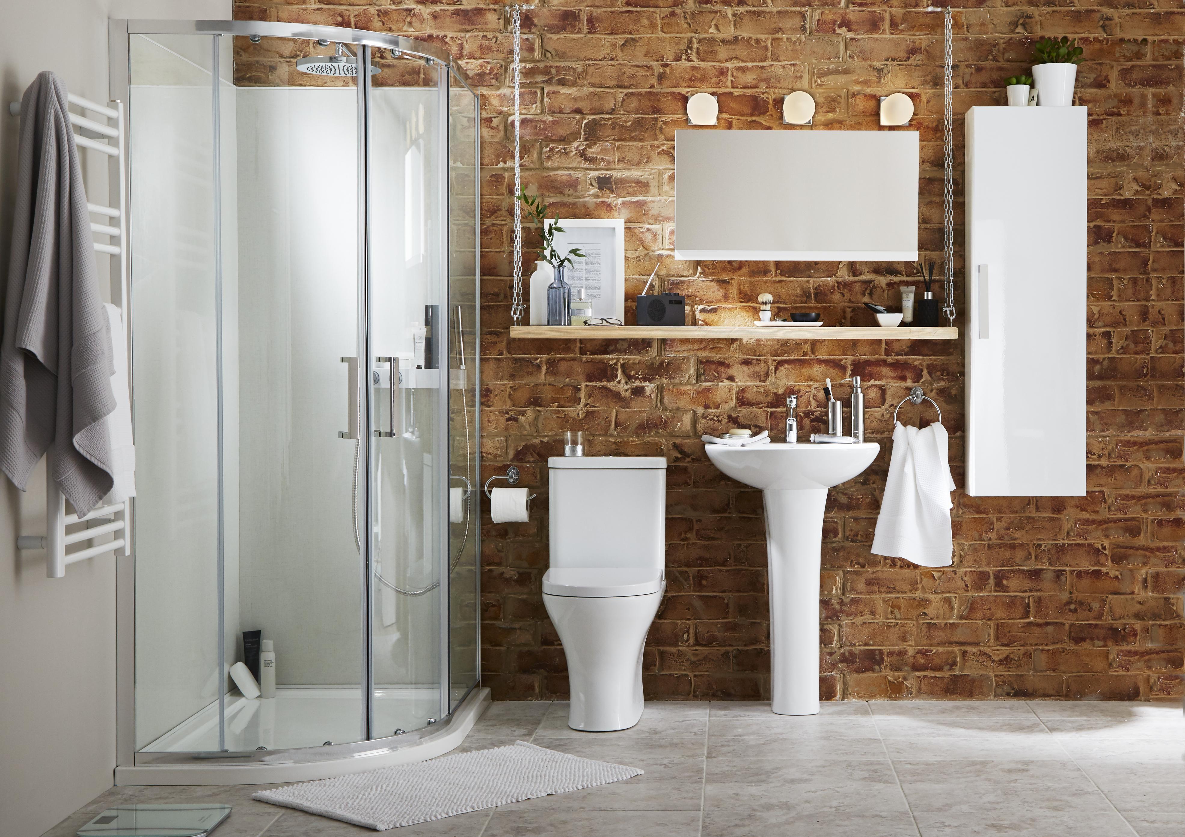 Bathroom Suites Complete Bathroom Suites DIY at BQ